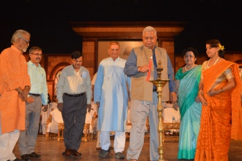 H E Governor of Tripura Lighting Lamp on Concluding Day as Chief Guest.JPG